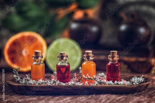 Leinwanddruck Bild Aromatherapy