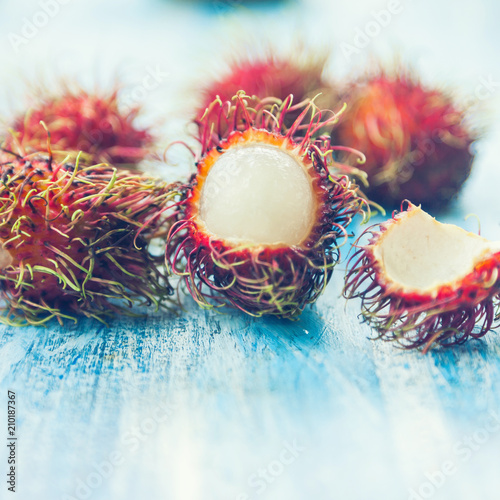 Rambutan Thai fruit - 210187367
