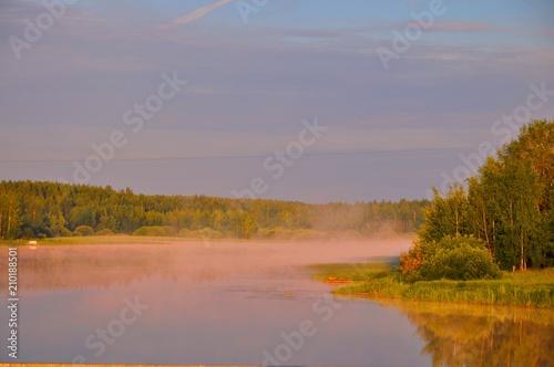 Fotobehang Lavendel вода