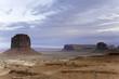Monument Valley, Arizona and Utah, a western scene