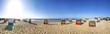 Leinwanddruck Bild - Cuxhaven, Strand