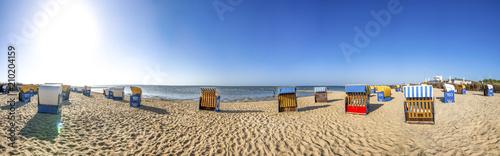 Leinwanddruck Bild Cuxhaven, Strand