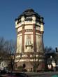 canvas print picture - Mönchengladbach - Wasserturm