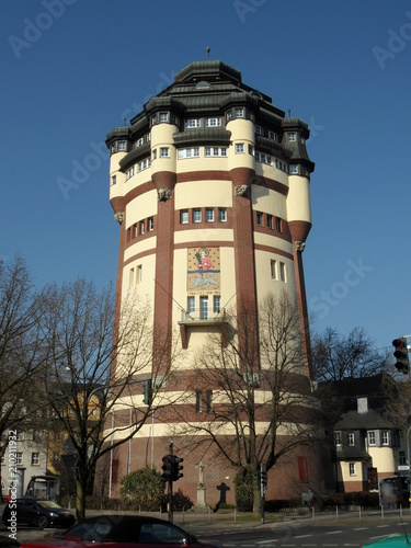 canvas print picture Mönchengladbach - Wasserturm