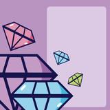 Luxury purple diamonds - 210215710
