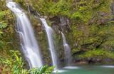 Scenic Waterfall Near Hana Maui