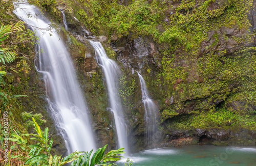 Scenic Waterfall Near Hana Maui - 210231193
