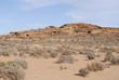 Sandstone desert landscape of Arizona