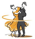 社交ダンスのアイコン