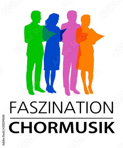 Fototapeta Musik - Chor - 9