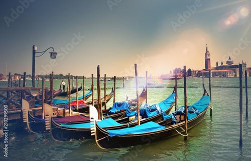 Fotobehang Imagination Venezia. Vacanze e turismo in Italia.