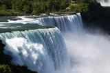 Landscape  Niagara falls From American side , New York, USA