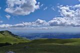 Paesaggio dai monti del Parco nazionale del Gran Sasso