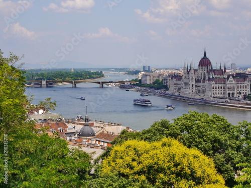 Budapest - Blick auf Pestufer 7