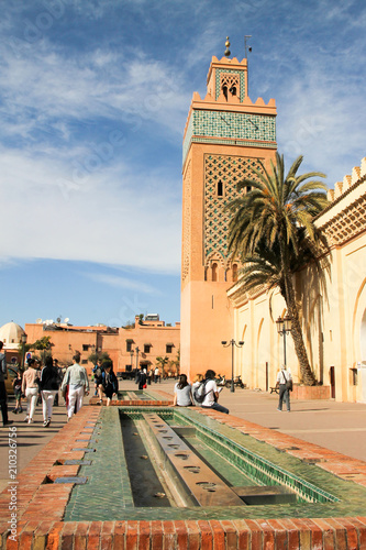 Fotobehang Marokko Marrakech