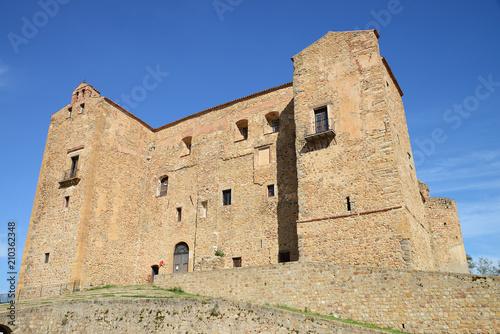 Plexiglas Palermo Castle of the Ventimiglia Castelbuono, Sicily, Italy