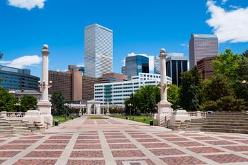 Buildings in downtown Denver Colorado