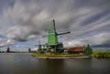 Windmill, Zaandam,  Holland