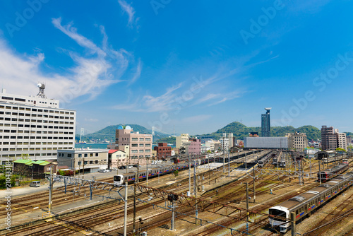 Aluminium Spoorlijn 門司港駅(福岡県北九州市)