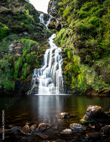 Waterfall in Ireland/Donegal - 210453565