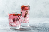Strawberry and rosemary drink - 210462793