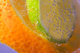 Citrus Slices in sparling water