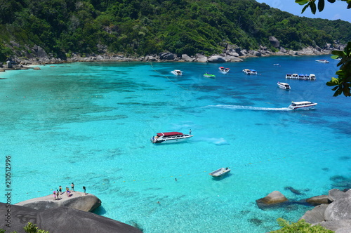 Aluminium Tropical strand Tropical beach, Phuket, The south of Thailand