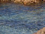Eaux turquoises de la Corse