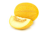 Melon on white background - 210573333