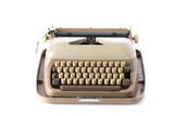 Retro style typewriter in studio - 210581535