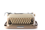 Retro style typewriter in studio - 210581591