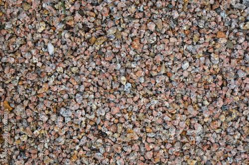 Fotobehang Zen Stenen Pebbles and small stones for garden decoration