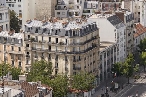 Fridge magnet Paris - Immeuble