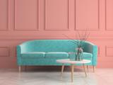Part of modern interior design 3D rendering - 210595551