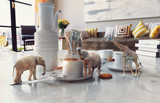 african animals on the coffee table. - 210620317
