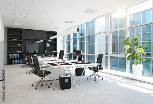 obraz PCV modern office interior.