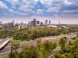 Mexico City Polanco Aerial View