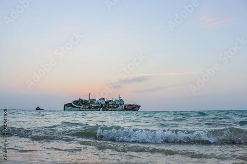 Aluminium Schipbreuk wreck ship