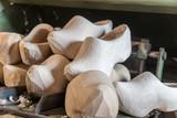 New Dutch wooden clogs