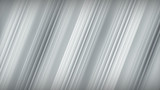 Diagonal grey stripes abstract 3D rendering