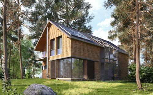 Drewniany dom 2