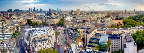 obraz PCV The London Skyline Panoramic