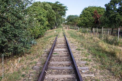 Aluminium Spoorlijn Trilho de trem urbanos
