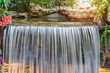 landscape of beautiful Waterfall in garden at public park - 210797781