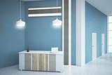 Modern office lobby - 210800159