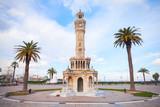 Izmir old clock tower. It was built in 1901 - 210802150