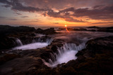 seascape on epic sunset
