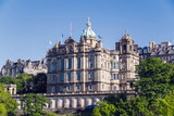 The original head office building of the Bank of Scotland, seen from Princes Street. - 210828956