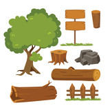 tree vector collection design - 210854345