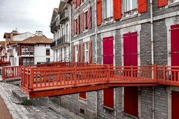 Maison basque à Saint Jean de Luz